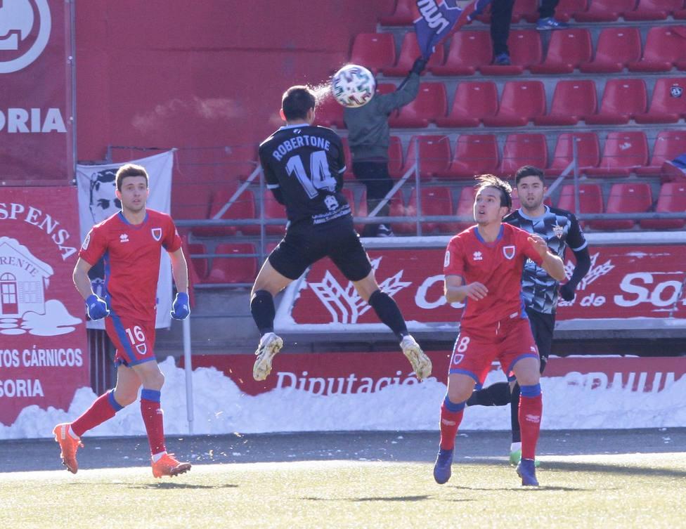 Numancia-UD Almería (1-2): ¿Quién manda aquí?