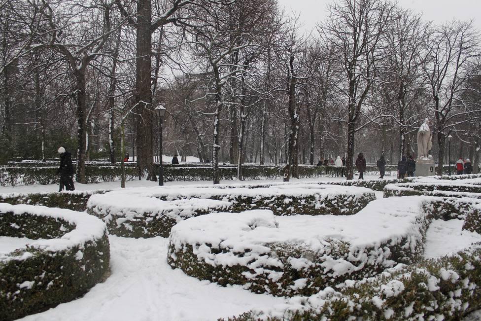 Madrid suspende de forma indefinida el acceso a todos los parques de la capital por la caída de árboles