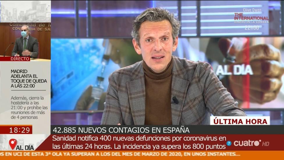 """Joaquín Prat se harta de las excusas de Sánchez y le manda un recadito: """"Qué espera"""""""