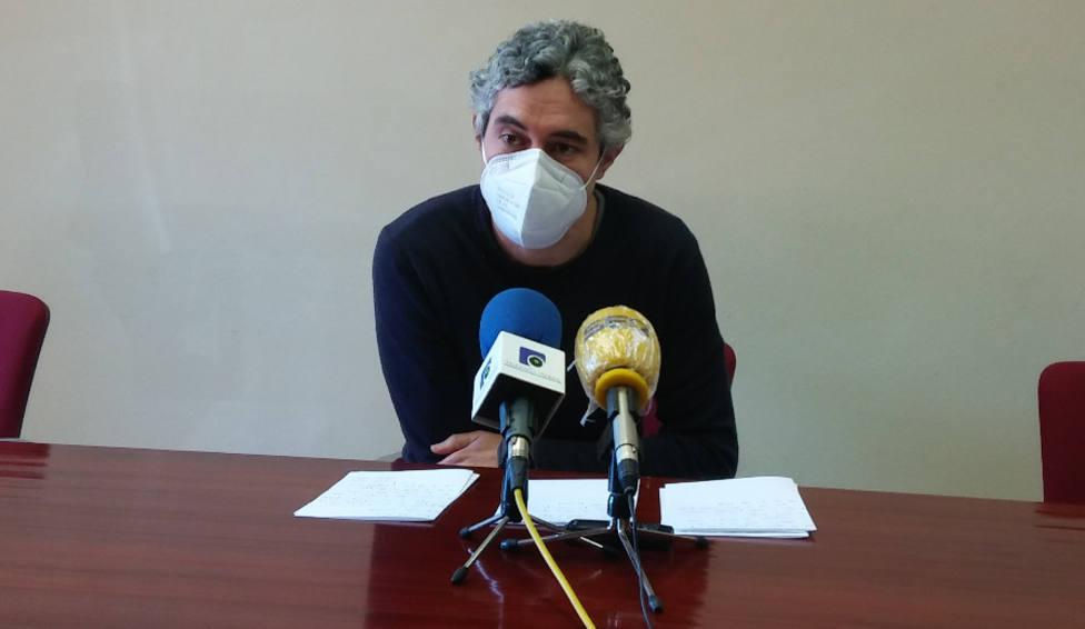 Iván Rivas, portavoz del grupo municipal del BNG en el Ayuntamiento de Ferrol - FOTO: BNG