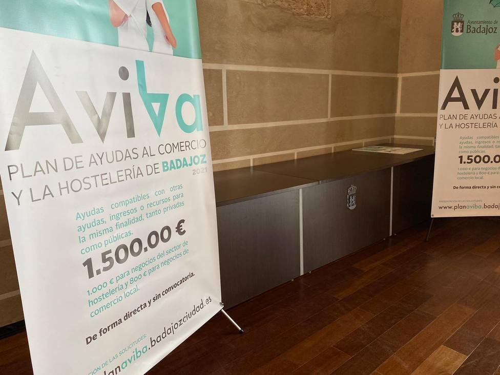 Plan Aviba de Badajoz para el sector de la hostelería y el comercio