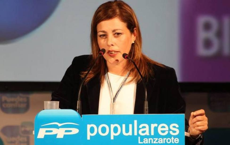 Astrid Pérez, única candidata a la presidencia del PP en Lanzarote