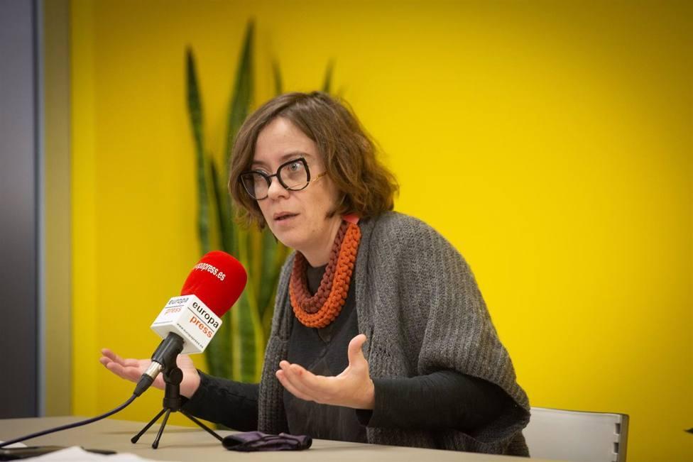 La indignación de Eulalia Reguant (CUP) porque los resultados de unas analíticas están en castellano
