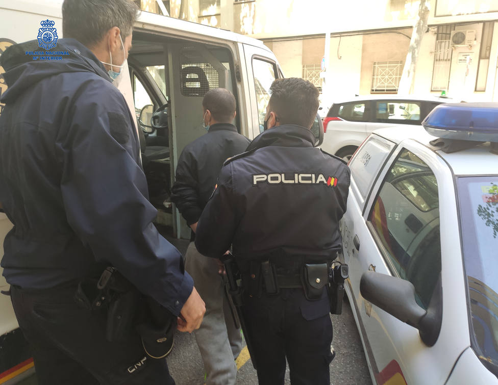 Detenido por robo en Palma