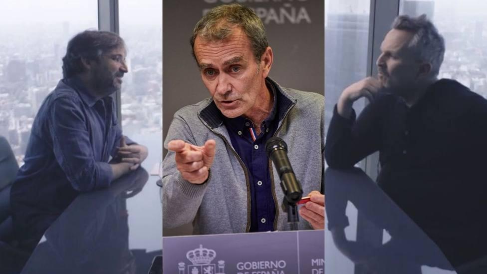 Miguel Bosé deja a cuadros a Évole con su frase sobre la gestión de Fernando Simón: Por eso pasa