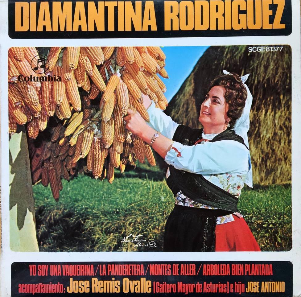 Diamantina Rodríguez es autora de temas míticos como A la madre del mineru o Arboleda bien plantada