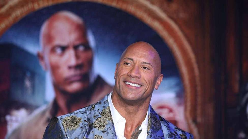 Dwayne Johnson, la Roca
