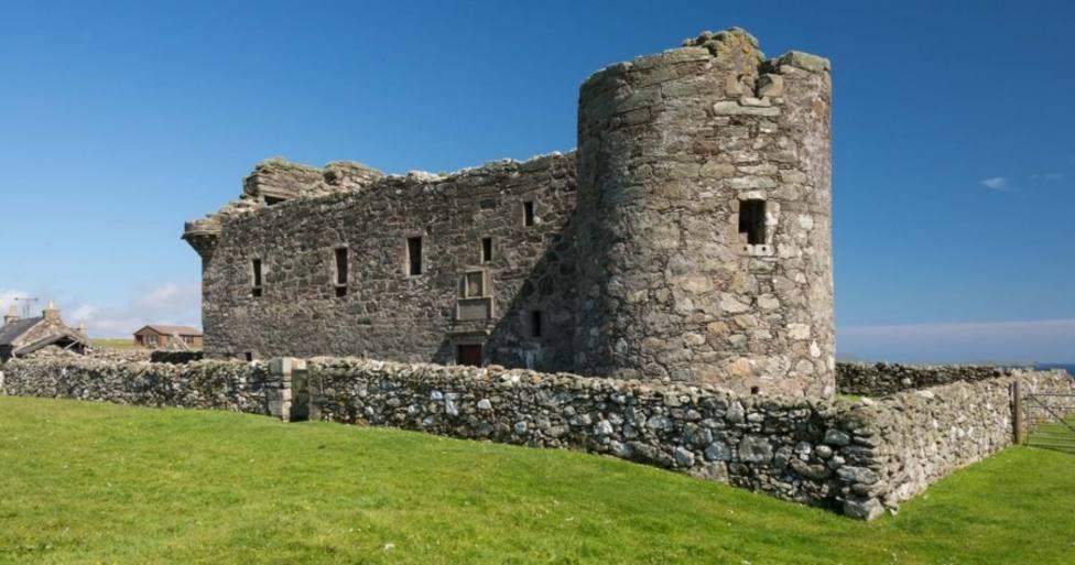 El castillo de Muness, en Escocia
