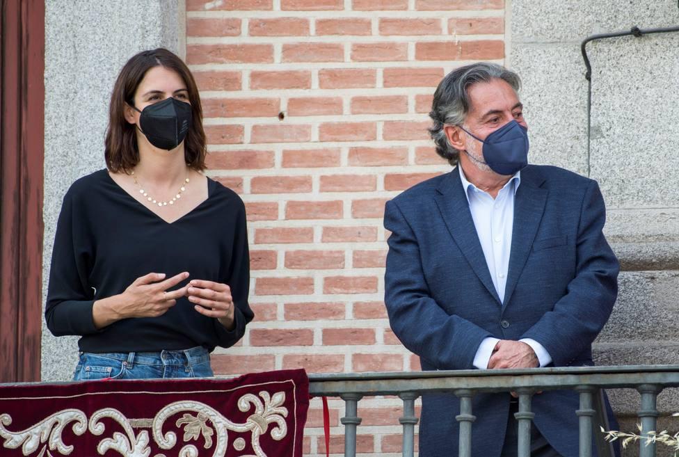 Los portavoces del PSOE y Más Madrid en el consistorio madrileño, Pepu Hernández y Rita Maestre