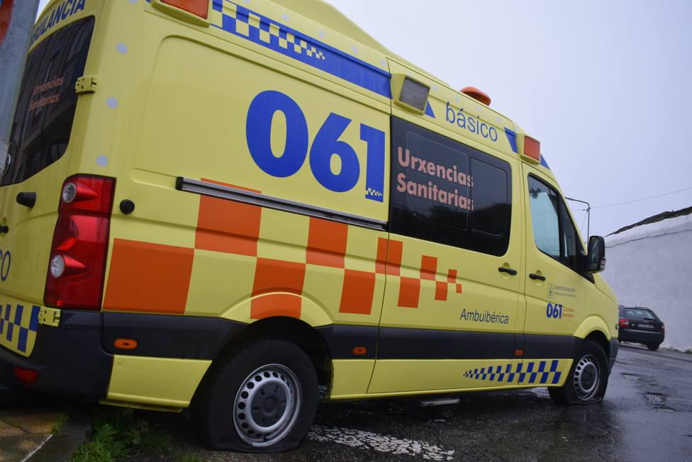 Ambulancia del 061-Urxencias Sanitarias