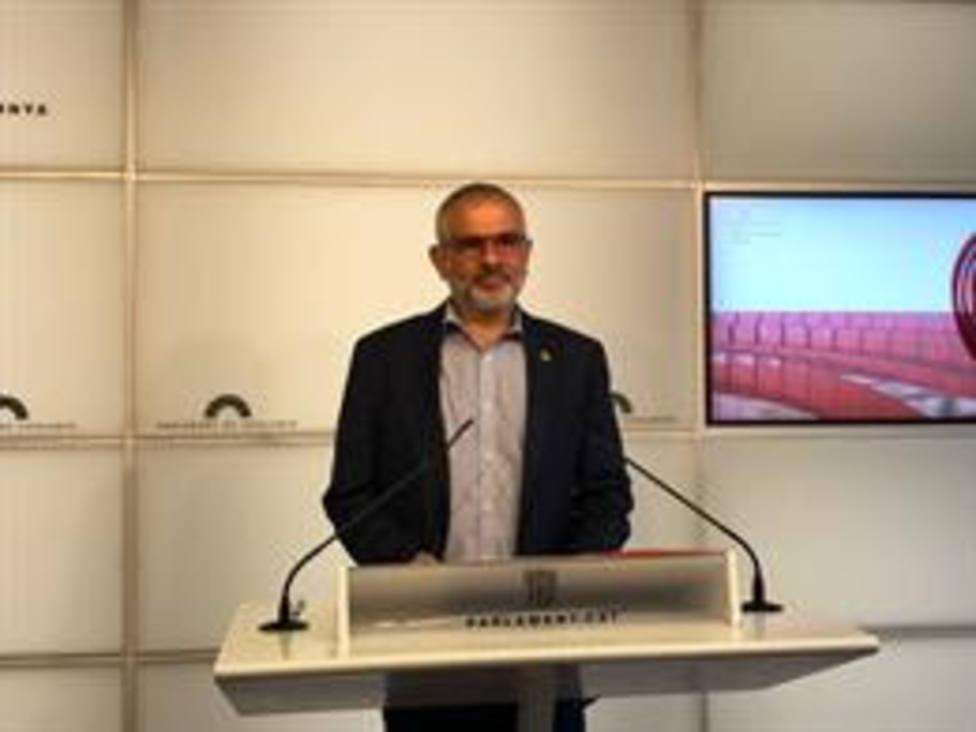 El líder de Cs en Cataluña, Carlos Carrizosa