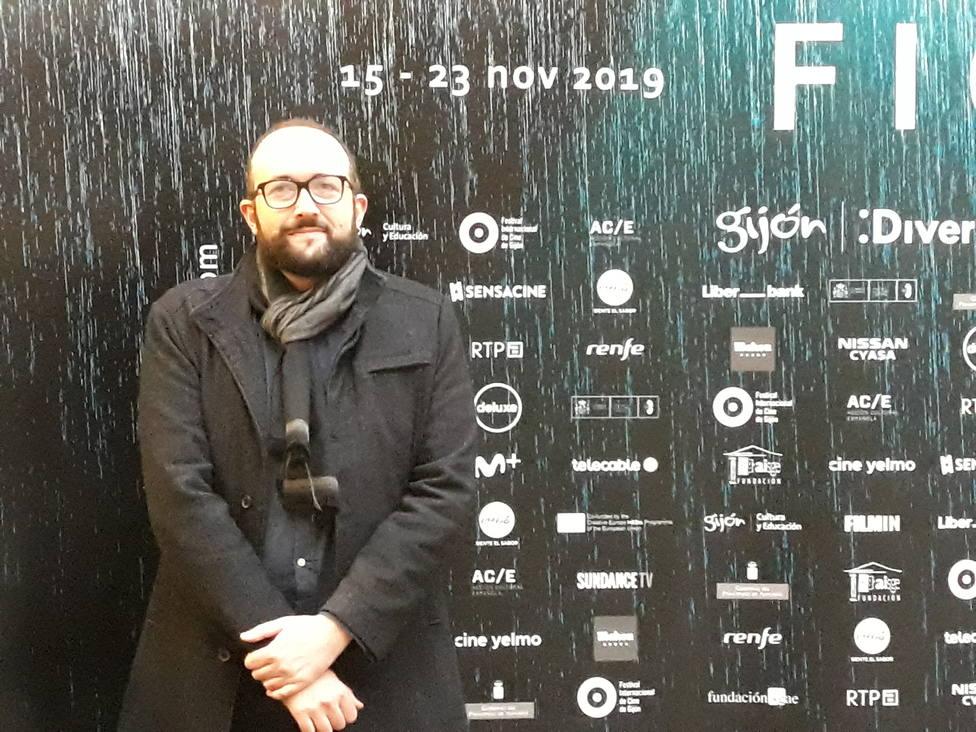 El director del Festival Internacional de Cine, Alejandro Díaz Castaño, busca extender el FICX a todo el año