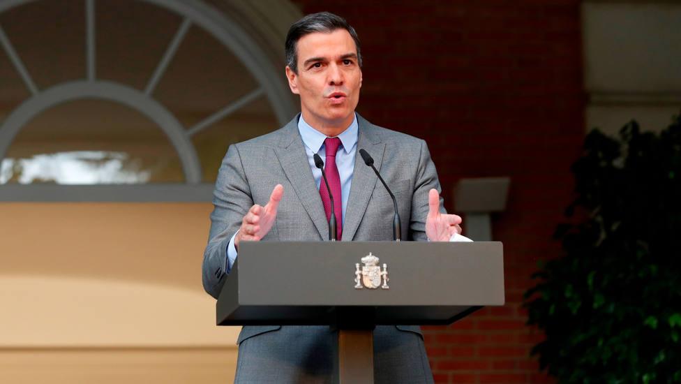 Rueda de prensa de Sánchez después de que el Consejo de Ministros aprobara los indultos del procés
