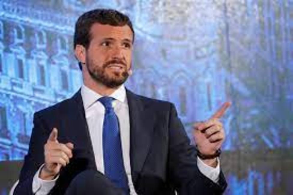 Pablo Casado critica ante asociaciones cubanas la inacción de Sánchez