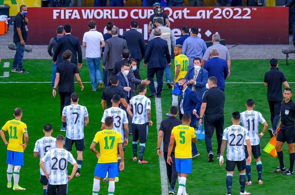 Brasil - Argentina, partido de clasificación para el Mundial de Catar 2022