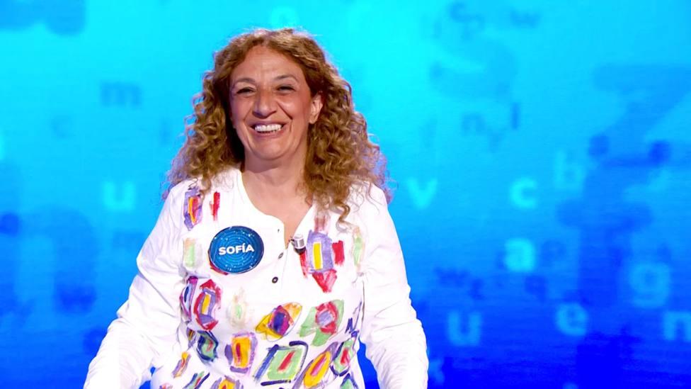 Sofía tras ganar Pasapalabra: Nuestros roscos tenían tres palabras complicadas y muchos de Pablo Díaz cuatro