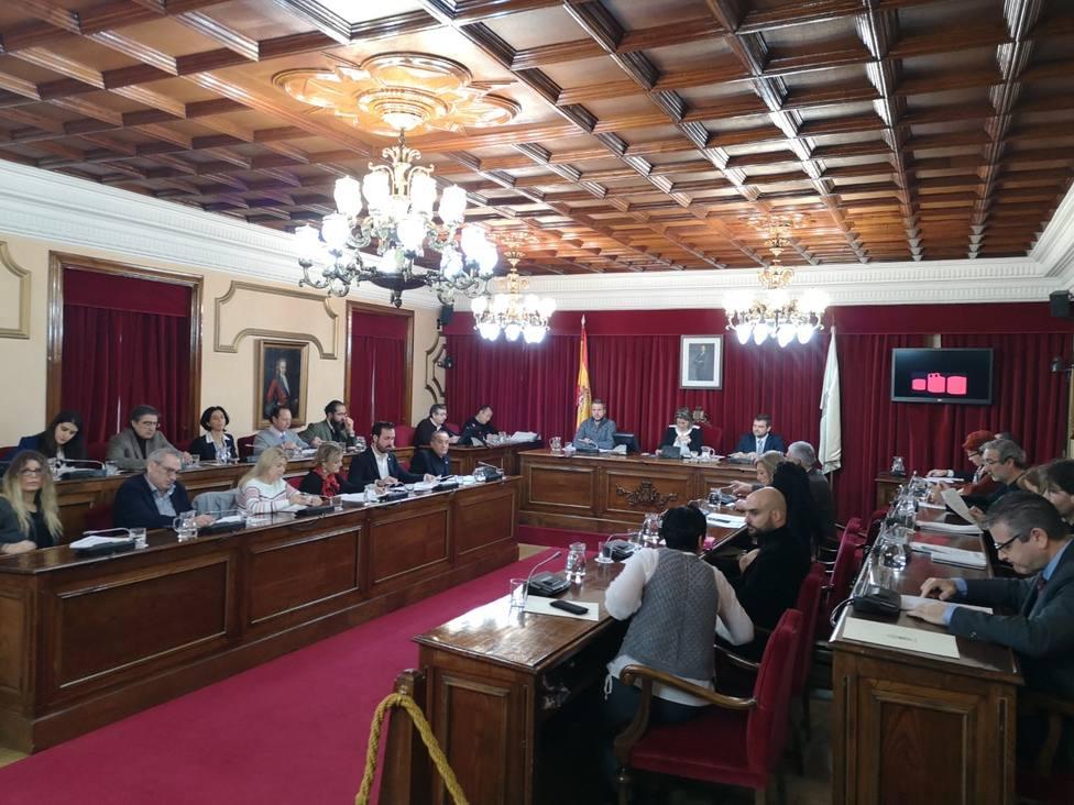 Pleno presencial en el Concello de Lugo
