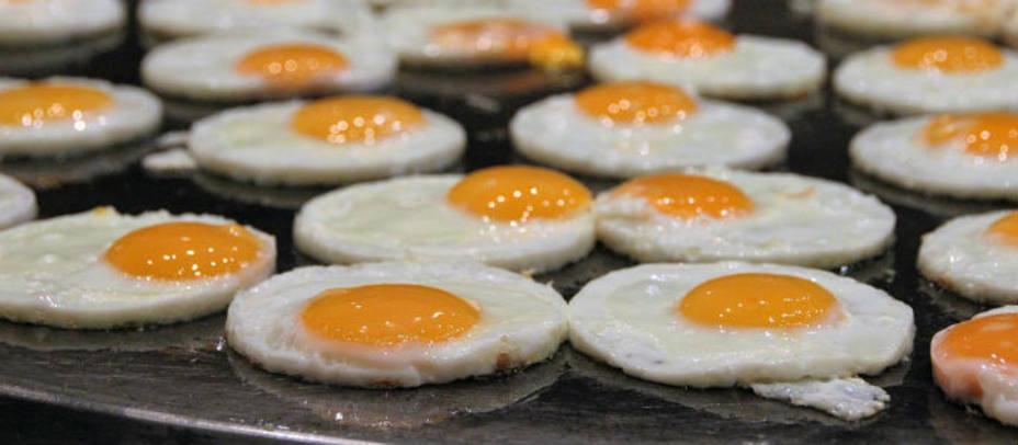 Huevos fritos congelados, la revolución de los huevos