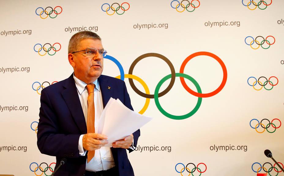 IOC President Bach