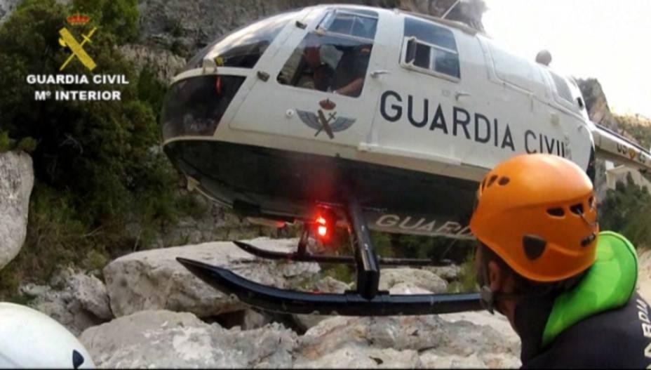 Rescate de la Guardia Civil de Montaña
