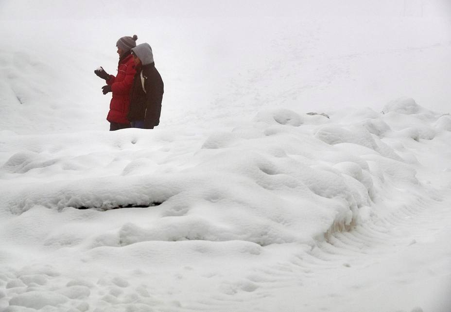 Sigue la nieve en España