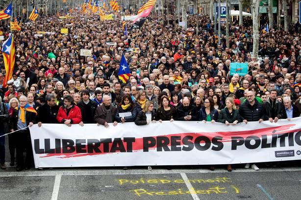 MANIFESTACIÓN ANC EN BARCELONA