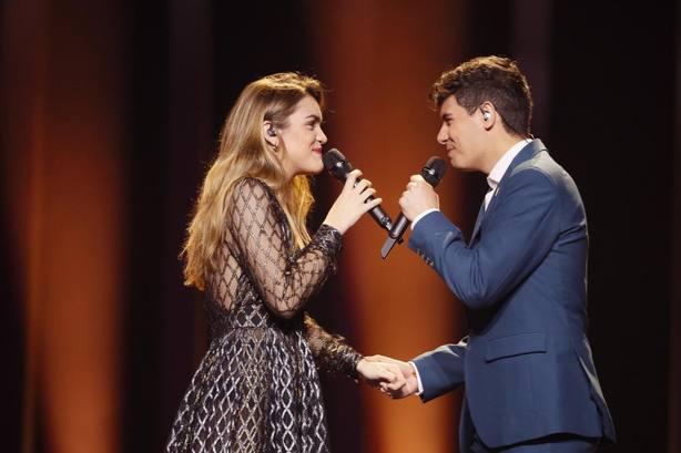 visión la actuación de Amaia y Alfred en Eurovisión 2018
