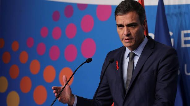 Pedro Sánchez en Argentina