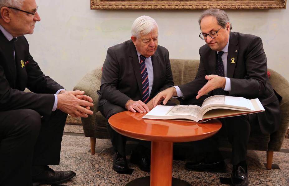 Torra asegura que la Constitución se ha convertido en una jaula para los catalanes