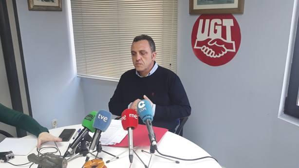 Mariano Carmona Secretario General de UGT