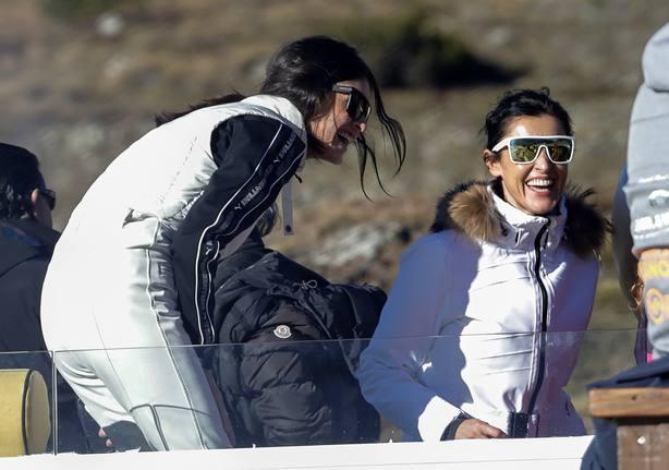 Blanca Romero y Lucía Rivera, dos modelos con gran estilazo en la nieve