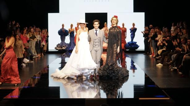 El fuentecanteño Luis Fernández triunfa en el Salón Internacional de Moda Flamenca de Sevilla