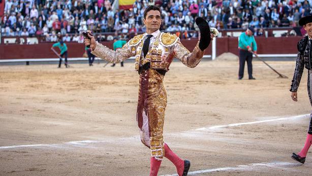 Paco Ureña durante una de sus actuaciones en la última Feria de San Isidro