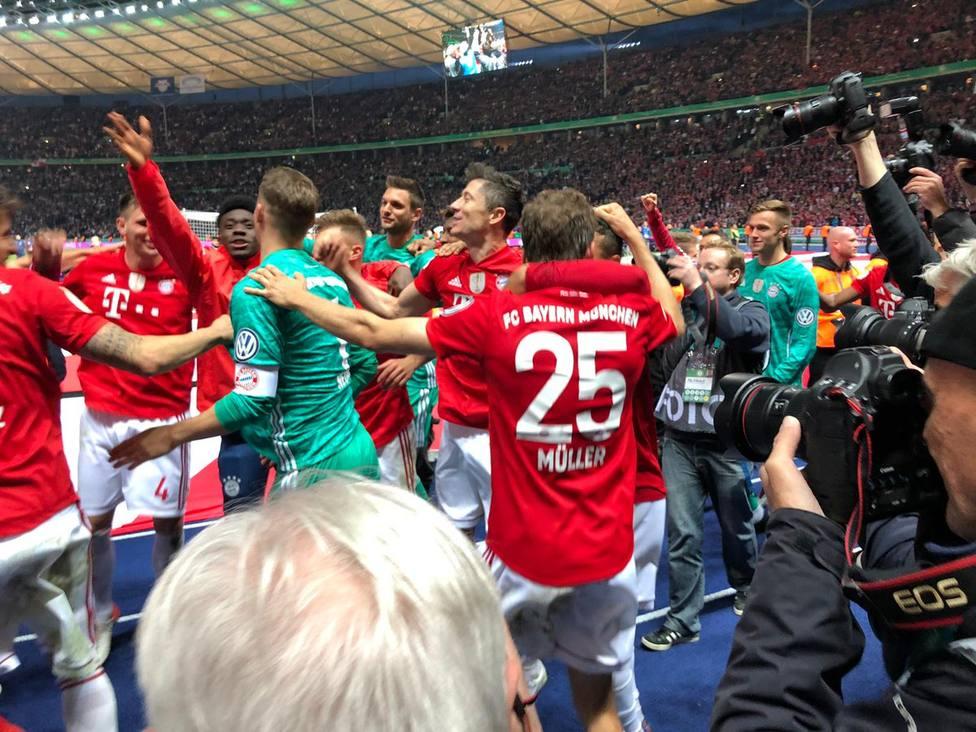 Doblete del Bayern