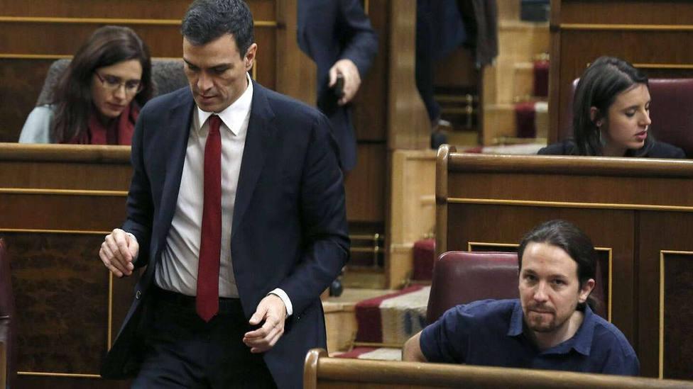 Sánchez acepta ministros que militen en la órbita de Unidas Podemos