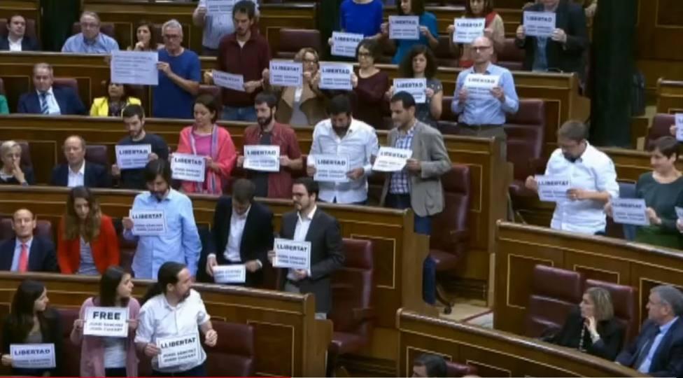 No solo Iglesias: Los otros dirigentes de Podemos que han hablado de presos políticos