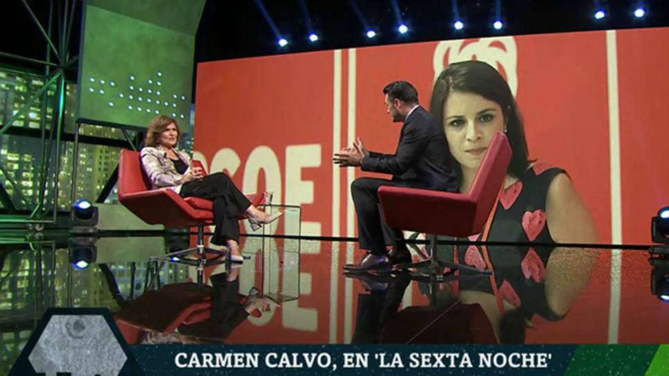 Calvo revela que el PSOE ya está negociando con Podemos el programa y las áreas de gobierno