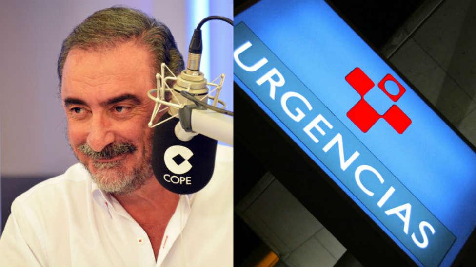 'El fósforo' de 'Herrera en COPE' que provocó el pánico en Urgencias por culpa del peluquín
