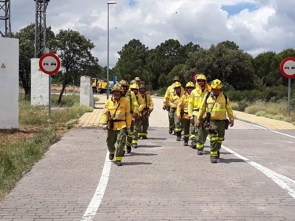 Estabilizado un incendio forestal declarado de madrugada en Posadas (Córdoba)