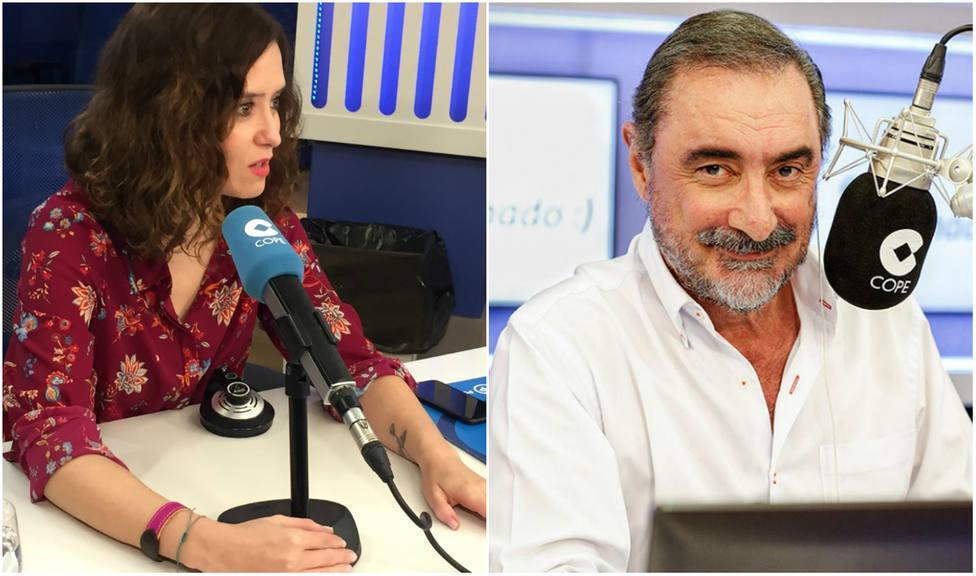 Carlos Herrera entrevista este viernes a Isabel Díaz Ayuso