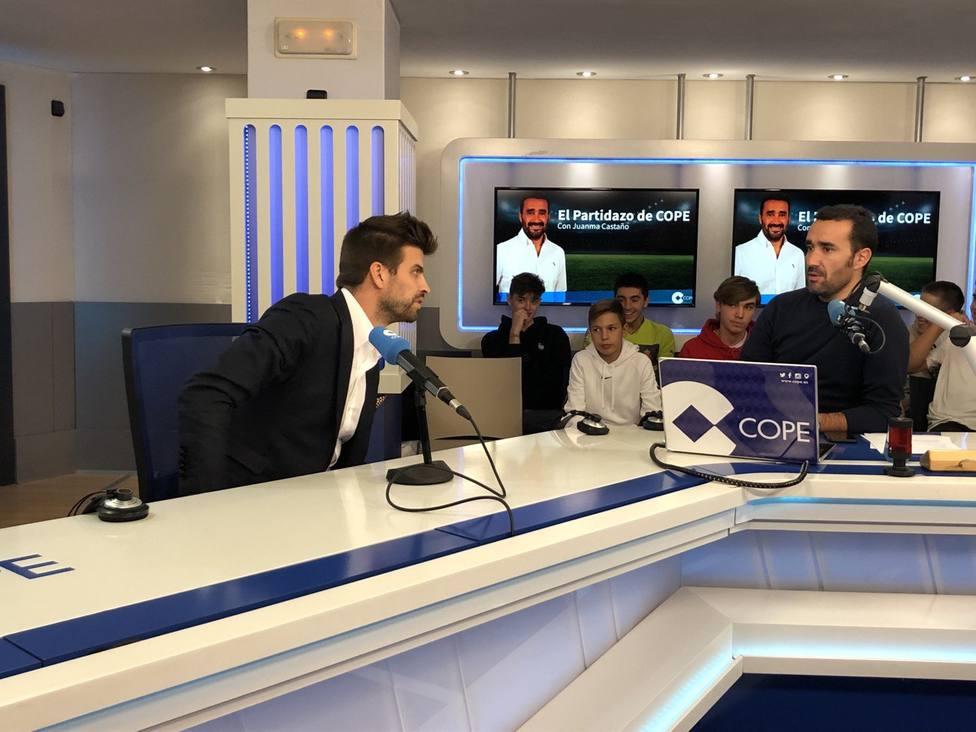 Sigue en directo la entrevista a Gerard Piqué en El Partidazo de COPE