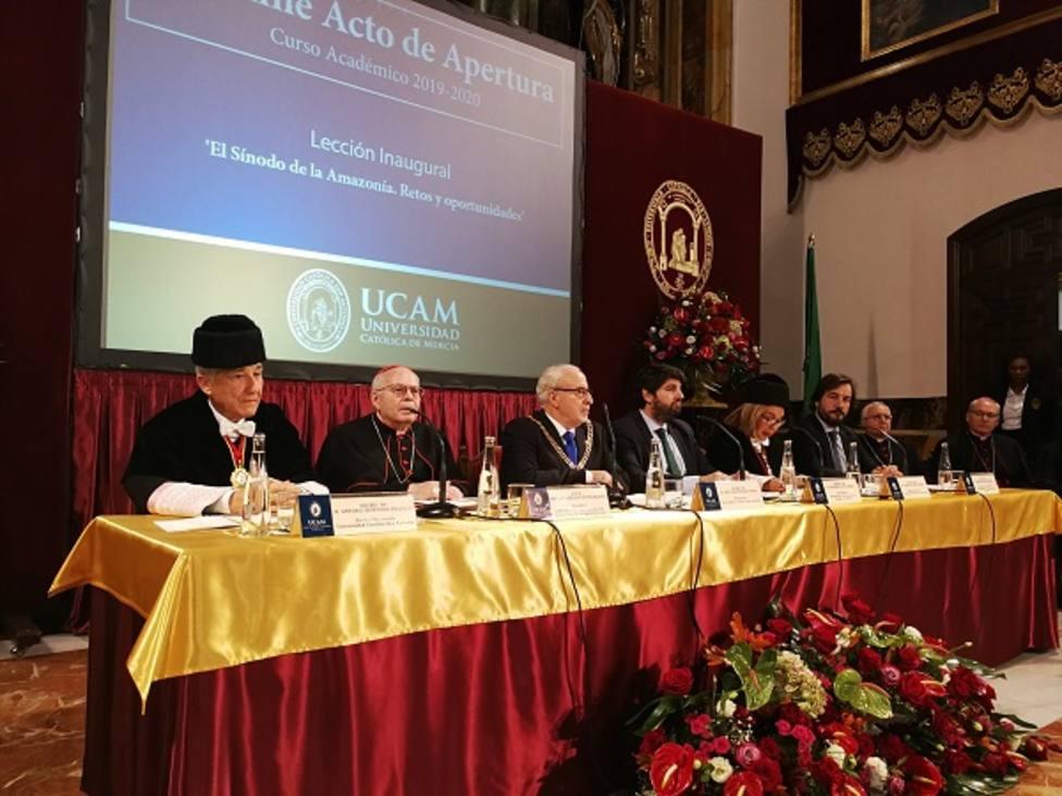 José Luis Mendoza, galardonado en los New York Awards por el modelo educativo de la UCAM