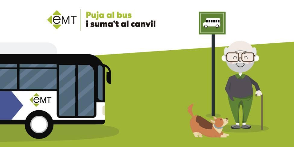 La EMT de Palma permitirá viajar con animales en 16 líneas a partir de febrero