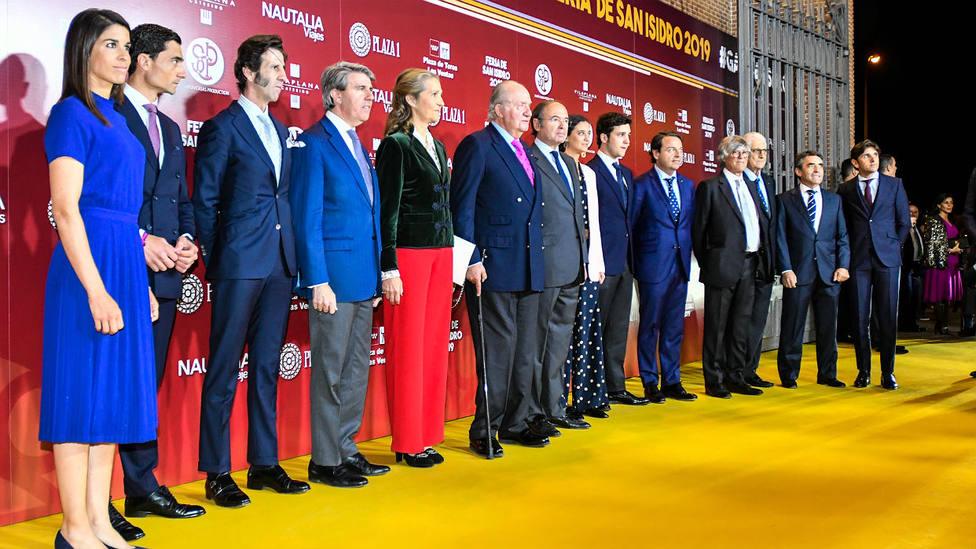El Rey Juan Carlos presidió la gala de presentación de la pasada Feria de San Isidro