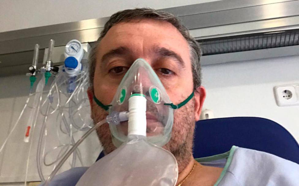 """El testimonio de un sacerdote con coronavirus: """"Soy necesitado de otros"""