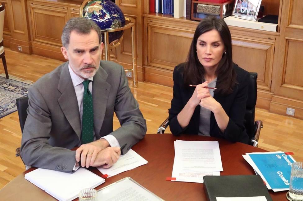 Los Reyes analizan con el director de la OMS la expansión del coronavirus