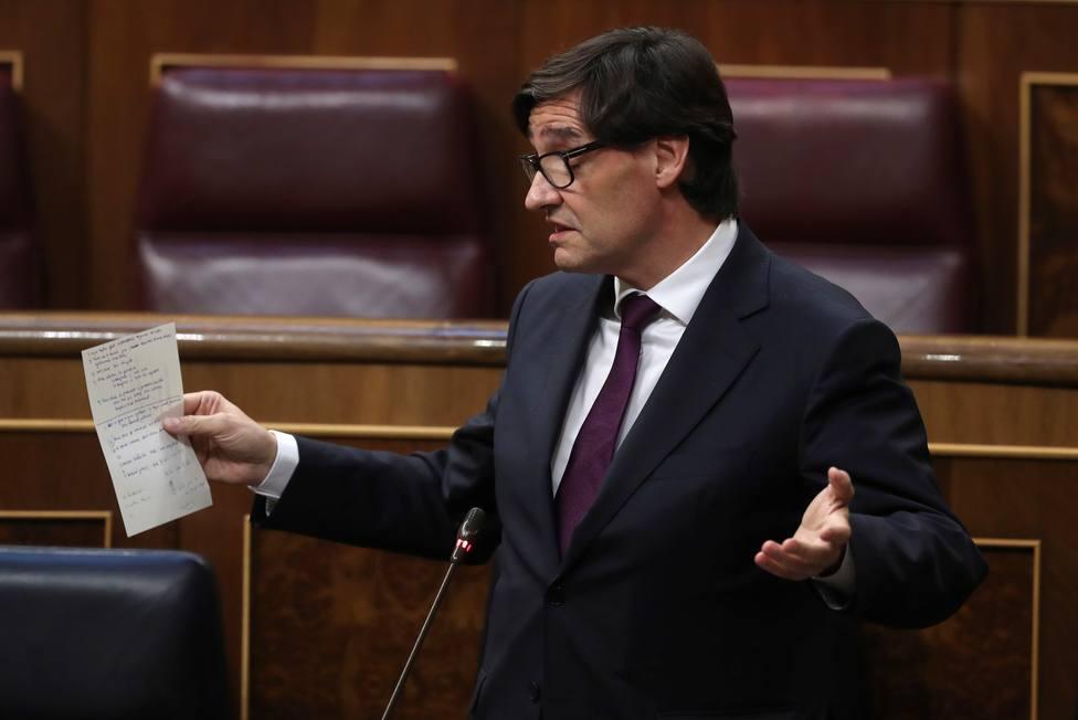 El PP pide la dimisión del ministro de Sanidad: sólo aciertan cuando rectifican, váyase