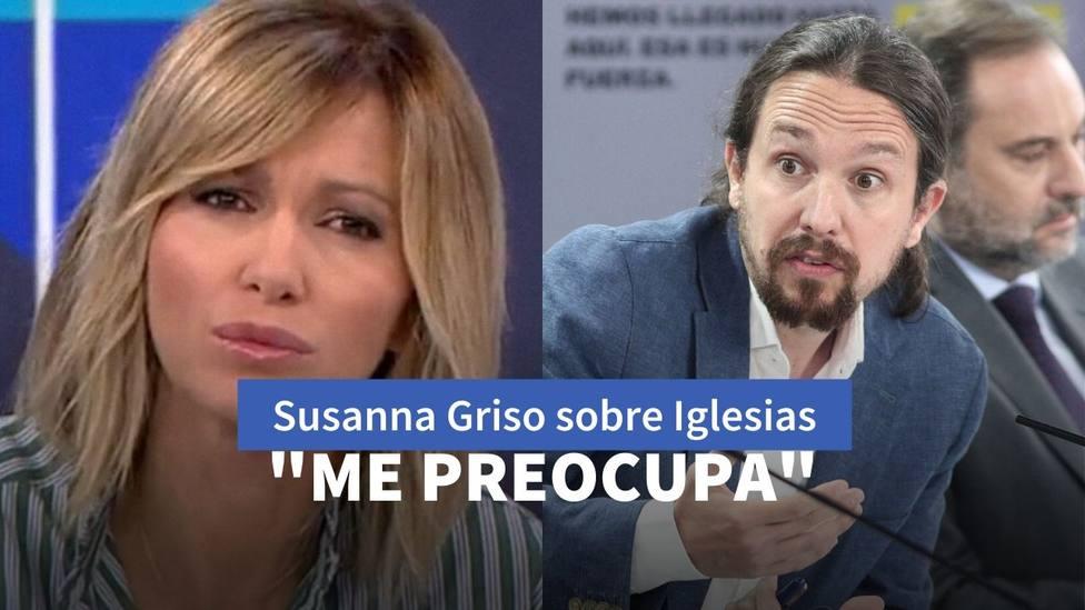 Susanna Griso y Pablo Iglesias