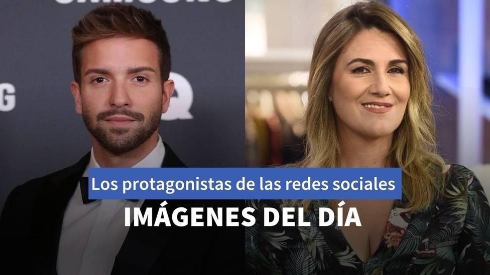 Pablo Alborán y Carlota Corredera