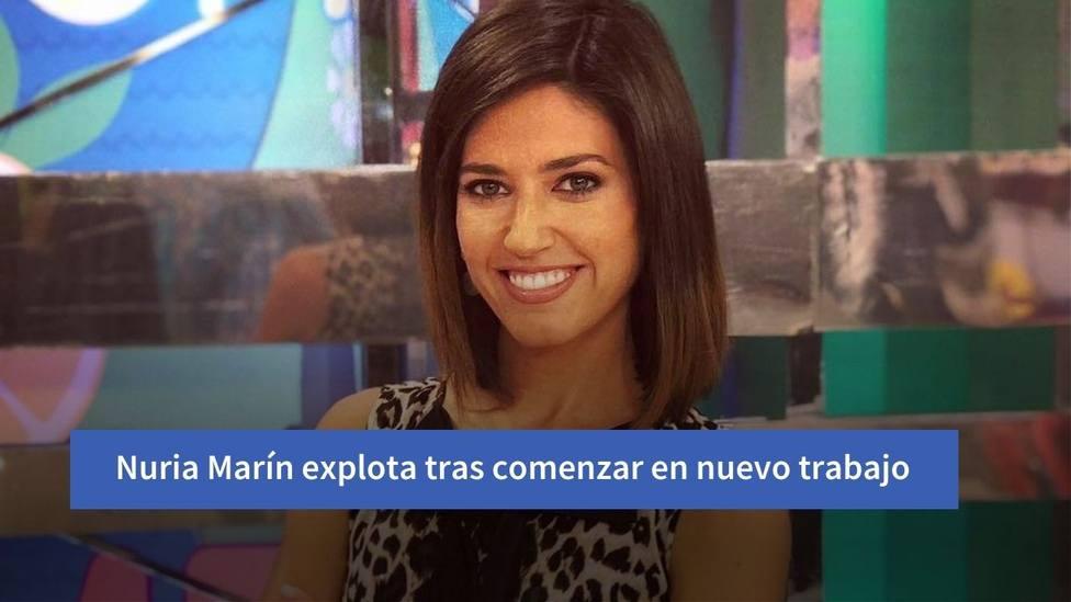 El momumental enfado de Nuria Marín a raíz de su nuevo puesto de trabajo: Basta ya